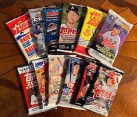 *The PACK STACK* (Baseball Hobby Pack Lot / Box) 12 hobby packs + FREE SHIPPING!