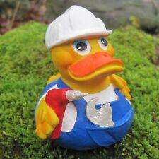 Badeente Heimwerker Duck Quietscheente Gummiente Geschenke Quietscheentechen