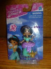 """Disney Princess Little Kingdom JASMINE Snap-Ins 3"""" Mini Doll Genie Lamp Aladdin"""