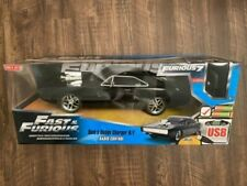 New! FAST & FURIOUS Movie Furious 7 RADIO CONTROL RC Dom's Dodge Charger R/T