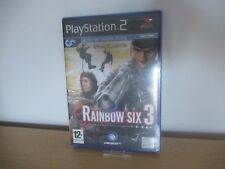 Tom Clancy's Rainbow Six 3 for SonyPlaystation PS2  new  Sealed pal version