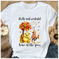 It's The Most Wonderful Time Of The Year Horse Pumpkin Autumn Halloween T-Shirt
