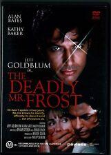HORROR MOVIE ' The Deadly Mr Frost ' DVD - RARE 1990 Jeff Goldblum , Kathy Baker