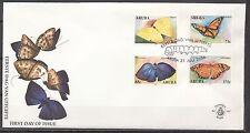 BLANCO FDC ARUBA NR. 107 VLINDERS ARUBA 31.JULI.2003