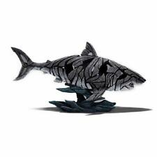 Enesco Edge Sculpture Shark Statue Figure, 12.25 inches