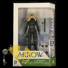"""ARROW Season Three BLACK CANARY TV Show 6.75"""" Action Figure DC Collectibles NEW!"""