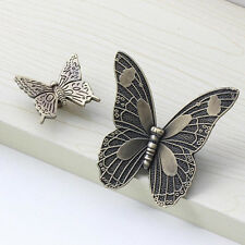 Drawer Knob Butterfly Pull Handles Cabinet Cupboard Door Furniture Bookcase