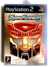 Transformers PS2 SPA Nuevo New Precintado Retro Playstation Videogame Videojuego
