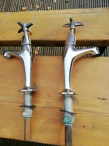 Reclaimed Chrome Kitchen Taps Belfast Suitable For Sink
