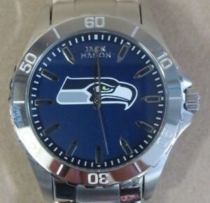 NFL '12th Man' SEATTLE SEAHAWKS Men's New Watch JACK MASON LEAGUE, MSRP - $125