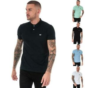 Mens Weekend Offender Barnum Short Sleeve Cotton Polo Shirts in Various Colours