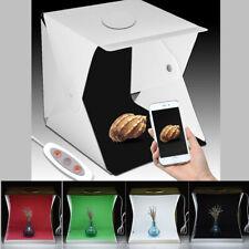 Photo Studio Light Box Foldable Photography Lighting Kit LED Lights 40cm