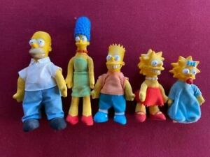 The SIMPSIONS , Burger King 1990 All 5  , Loose