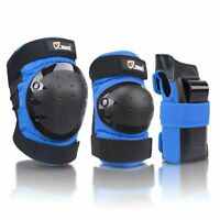 JBM Kids Skating Knee Pad Set 6 pcs Child Bicycle Skateboard Protective Elbow