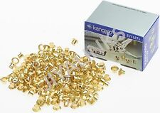 KANGARO BPE-20 5 mm EYELETS FOR EYELET HOLE PUNCH PACK 250 PCS BRASS