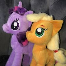 My Little Pony Hasbro Twilight Sparkle Applejack Gift Plush Toy Bundle Joblot