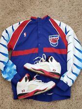 New Jersey Nets Brooklyn Mitchell   Ness NBA Warm Up Jacket nike carter kidd 6bc136385