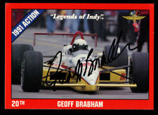 Geoff Brabham #21 signed autograph auto 1992 Legend of Indy Trading Card
