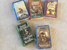 Brian Jaques Lot of 5 Books