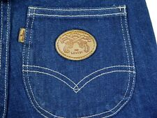 New listing Vintage 70s Levis dark jeans high waist straight Usa womens 15 Deadstock Nwt