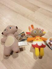 In The Night Garden Maca Paka And Upsy Daisy Plush Toys 19cm