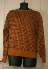 C.J. Cotton Co. Men's Heavy Sweater Size Large Made in USA 100% Cotton