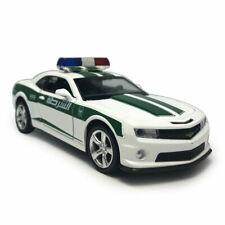 Chevrolet Camaro Police Car 1:32 Model Car Diecast Gift Toy Vehicle White Kids