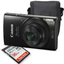 Canon PowerShot ELPH 190 IS Digital Camera (Black) with 10x Optical Zoom and ...