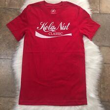 Kola Nut Classic,Red T-Shirt. Pop Caven Sz S. 100% Cotton