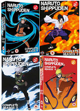 NARUTO SHIPPUDEN - Complete Series 1-4 Collection Eps 1-192 (NEW DVD)