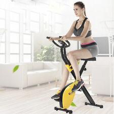 Vélo d'appartement Pliable Vélo de Fitness Cardio Gym + Ordinateur femme homme