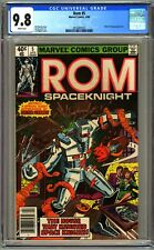 ROM #5 - CGC 9.8 NEWSSTAND EDITION - WP - NM/MT - DOCTOR STRANGE APPEARANCE