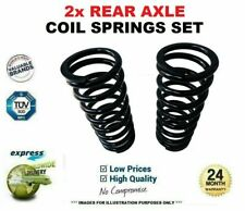 2x REAR Axle COIL SPRINGS for BMW 5 Touring (E39) 530 i 2000-2004