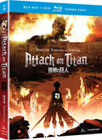 Attack on Titan - Part 1 [New Blu-ray] With DVD, Dubbed, Subtitled