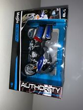 MAISTO 1:18 AUTHORITY POLICE MOTORCYCLES BMW R 1200 RT CHP DIECAST MODEL 32306