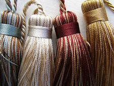 Florentine Schlüssel-Quasten - Wein,Gold,beige etc. Trimmen Kissen und Vorhänge