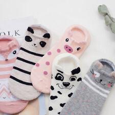 Kawaii Summer Cotton Socks Girls Casual Low Hosiery Colorful Short Women Socks