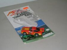 SLOT CAR COLLECTIBLE: AFX MAGNA-TRACTION FLAME-THROWER `77 MONZA w/CARD 1979