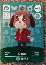 Animal Crossing Amiibo Cards Series 1 Digby 009 Nintendo Switch 3DS Wii U