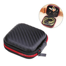 Portable Earphone Carry Case Box Pouch Storage Bag For SD Card Headphone Earbuds