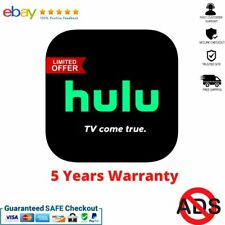Hulu Premium No Ads  💻 5 YEARS WARRANTY Super FAST Delivery ⏰