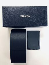 PRADA Sunglass Case,  Gift Box & Cleaning Cloth ~Authentic ~NEW!
