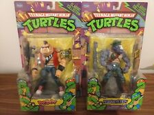 TMNT Classic Collection Figures Bebop And Rocksteady - used
