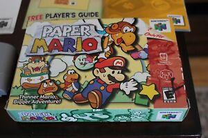 Paper Mario 64 - CIB