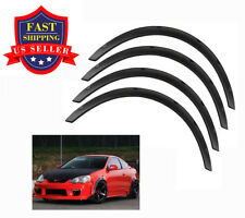 "Universal 4pcs PP 2""/50mm Fender Flares JDM Over Wide Body Wheel Arches"