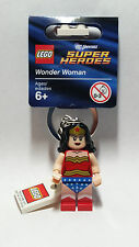 Brand New Lego - Wonder Woman Keyring (2012) - Superheroes - 853433 - Free P&P