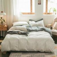 3D White Lattice ZHUA3238 Bed Pillowcases Quilt Duvet Cover Set Queen King Zoe