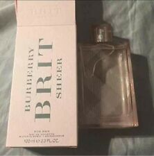 burberry brit sheer perfume for her 3.3 fl oz