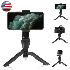 Universal Adjustable Tripod Phone Desktop Stand Mount Holder for iPhone Samsung