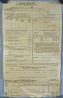 Vintage Met Life Insurance Form Proofs of Death